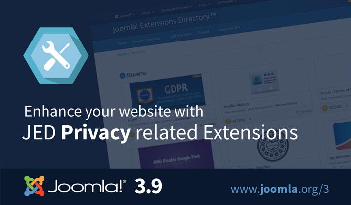 Joomla 3.9 Extensions