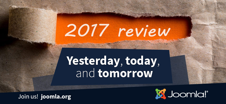 Joomla Year in Review - 2017