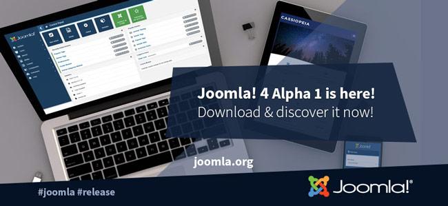 joomla 4 alpha1