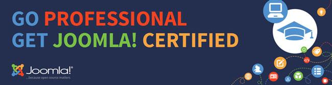 certification joomla