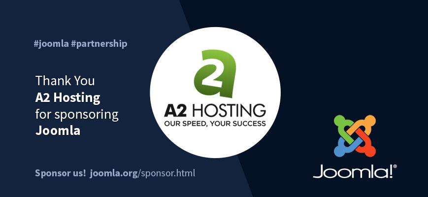 Introducing High Performance Joomla! Host A2 Hosting As Global Sponsor