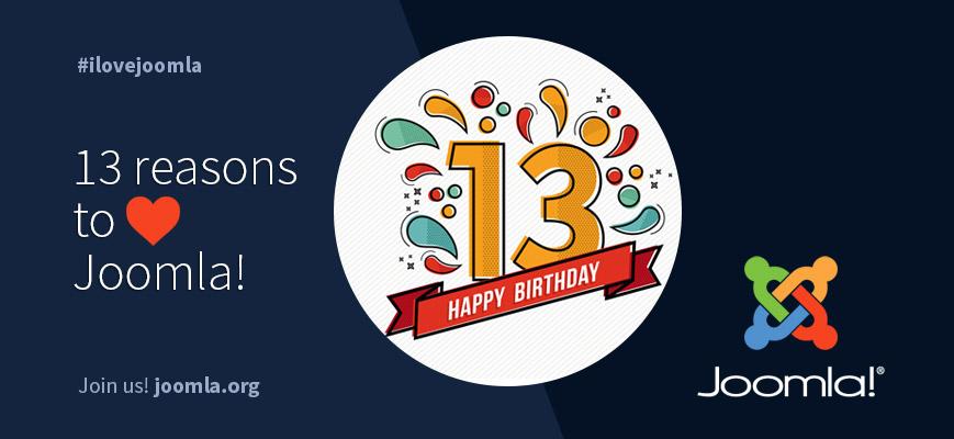 joomla 13 birthday