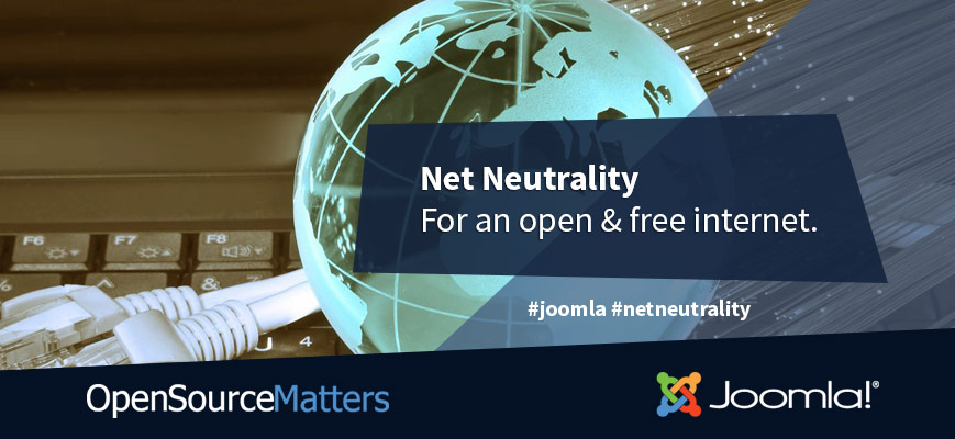 Joomla's Response to Overturning Net Neutrality in the United States