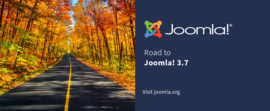 Road to Joomla! 3.7