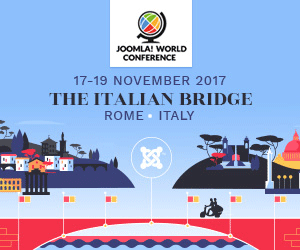 Joomla! World Conference 2017, Rome, Italy November 17-19 17 - 19 November 2017