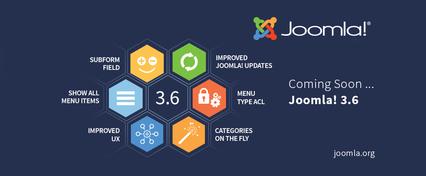 Joomla 3.6 features