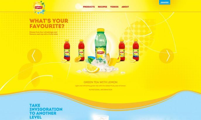 joomla showcase lipton