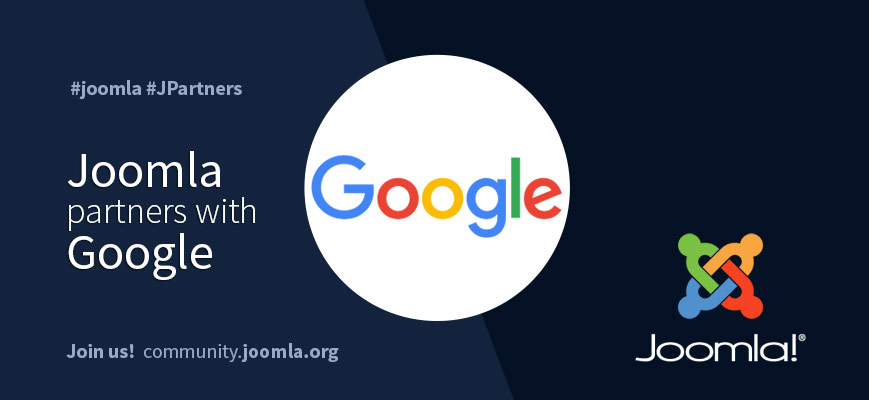 Google and Joomla Sponsorship Announcement
