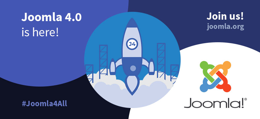 Joomla 4.0.0 Stable - Ready for a new world of possibilities. Use the hashtags #joomla4 #Joomla4All