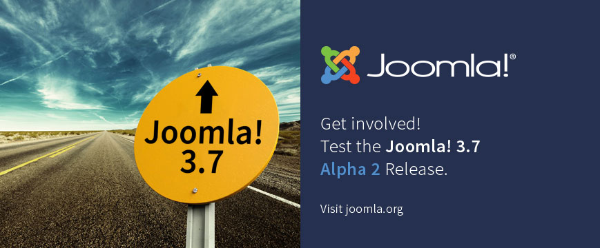 joomla 3 7 alpha 2 release
