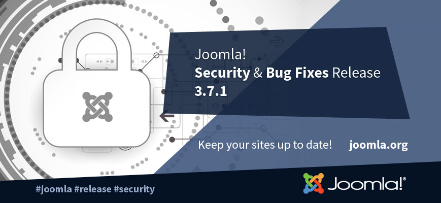 Joomla! version 3.7.1