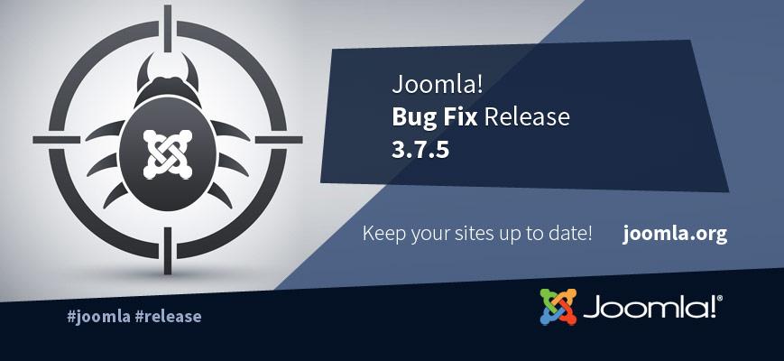 Joomla 3.7.5