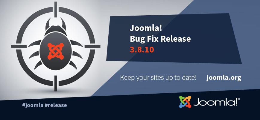 Joomla! 3.8.9 + 3.8.10