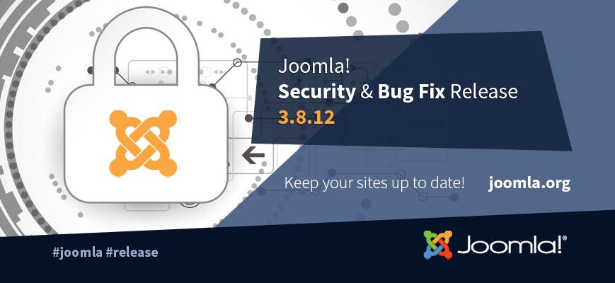 Joomla 3.8.12 Release