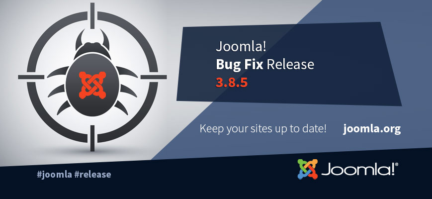Joomla 3.8.5