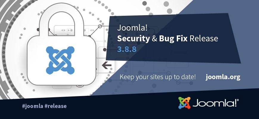 Joomla ! 3.8.8