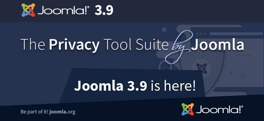 Joomla 3.9, The Privacy Tool Suite