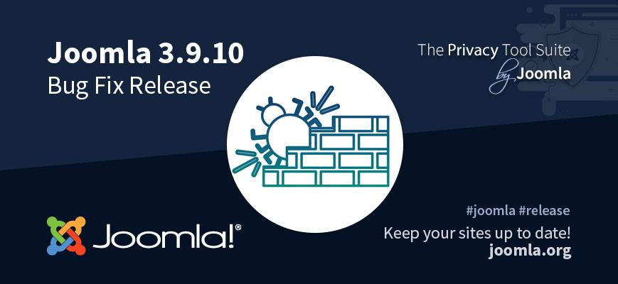 Joomla 3.9.10