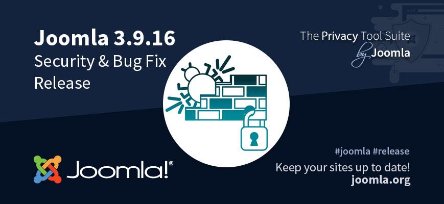 Joomla 3.9.16