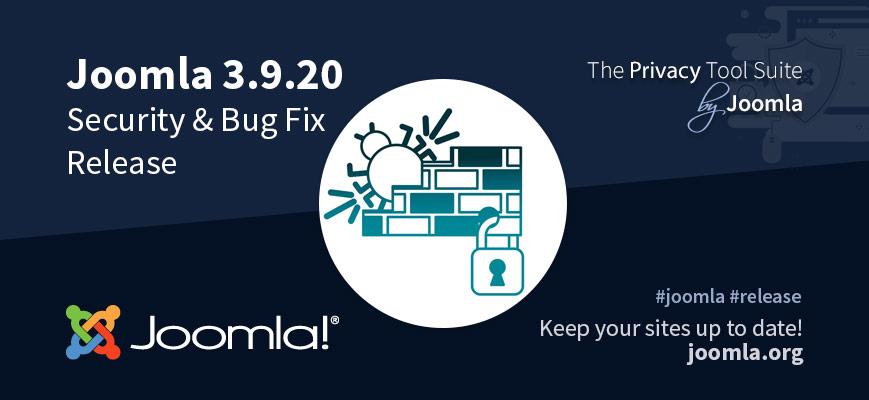 Joomla 3.9.20