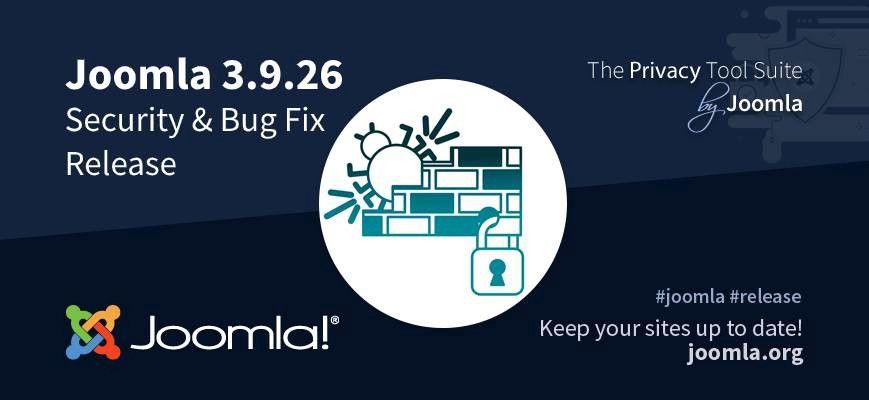 Joomla 3.9.26 Release