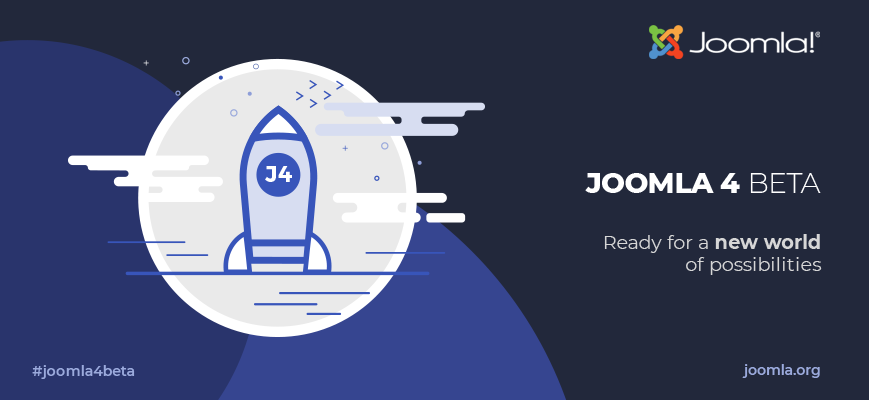 Joomla 4.0 is on the horizon… the Beta is here