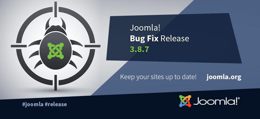 Joomla! 3.8.7