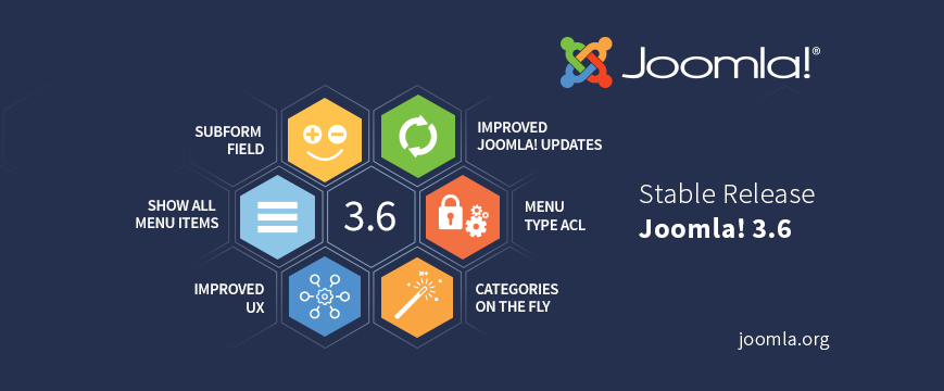 Joomla 3.6 released