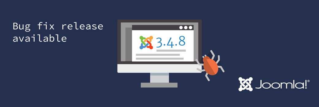 Joomla! 3.4.8 - Bug Release Available