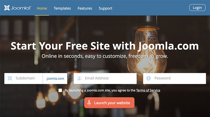 Joomla! offers FREE hosted website solution on Joomla.com in ...