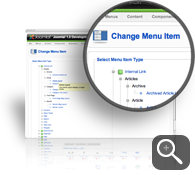 Change a Menu Item Type