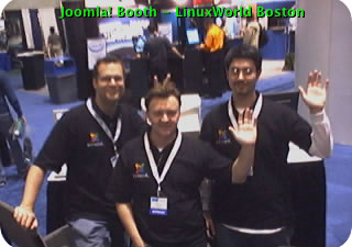 Boston LinuxWorld WebCam