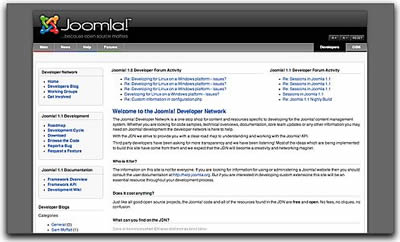 Joomla! Developer Portal