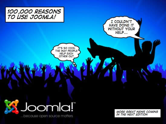 Joomla 100k Reasons