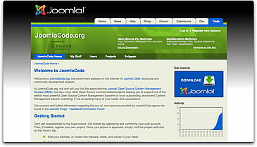 JoomlaCode.org Shifts Forge's Gears