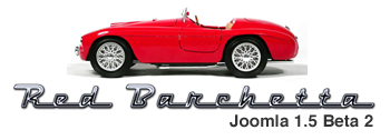 Red Barchetta logo