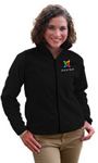 Women's Black Fleece Jacket