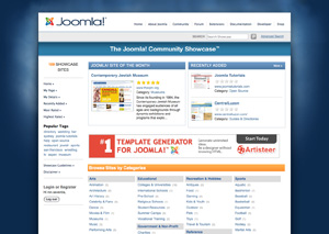 Joomla Community Site Showcase